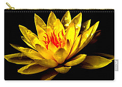 A Water Lily Carry-all Pouch