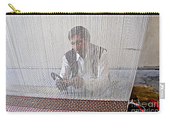 A Weaver Weaves A Carpet. Carry-all Pouch