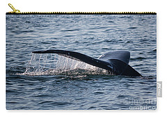 A Whale Tail Carry-all Pouch by Suzanne Luft