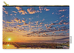A Wildlife Paradise Marvel Sunrise Carry-all Pouch