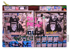 A Wiley The Monkey Mural In New York  Carry-all Pouch
