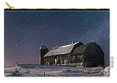 A Winter Night On The Farm Carry-all Pouch