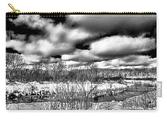Carry-all Pouch featuring the photograph A Winter Panorama by David Patterson