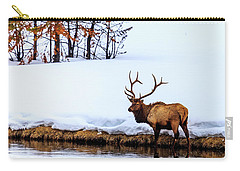 A Winter Wade Carry-all Pouch