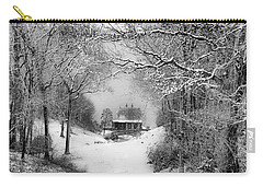 A Winter's Tale In Centerport New York Carry-all Pouch