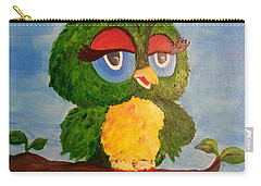 A Wise Bird Carry-all Pouch