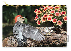 A Woodpecker Conversation Carry-all Pouch