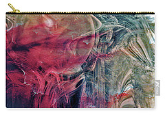 Carry-all Pouch featuring the digital art A World Beyond by Linda Sannuti
