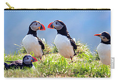A World Of Puffins Carry-all Pouch