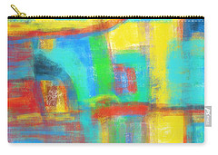 Carry-all Pouch featuring the painting A Yellow Day by Susan Stone