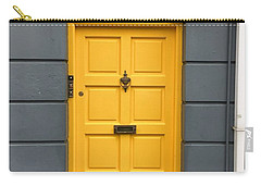 A Yellow Door In Ireland Carry-all Pouch