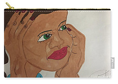 A Young Woman  Carry-all Pouch