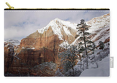 A Zion View Along The Trail Carry-all Pouch