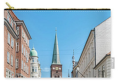 Carry-all Pouch featuring the photograph Aarhus Street Scene by Antony McAulay