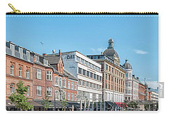 Carry-all Pouch featuring the photograph Aarhus Summertime Canal Scene by Antony McAulay