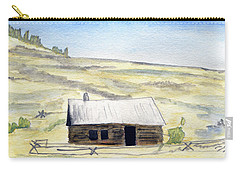 Abandon Ranch House Carry-all Pouch by R Kyllo