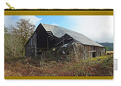 Abandoned Barn In Alsea Carry-all Pouch by Judy Wanamaker
