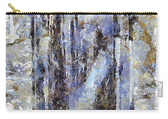 Abandoned Beauty Carry-all Pouch by Shirley Stalter