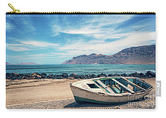 Abandoned Boat Carry-all Pouch by Delphimages Photo Creations