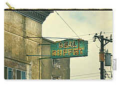 Carry-all Pouch featuring the photograph Abandoned Building by Jill Battaglia
