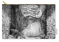 Carry-all Pouch featuring the photograph Abandoned Cell by Hugh Smith