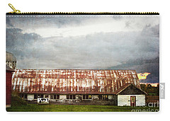 Abandoned Dairy Farm Carry-all Pouch by Judy Wolinsky