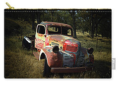 Abandoned Dodge Truck Watercolor  Carry-all Pouch by Frank Wilson