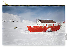 Abandoned Fishing Boat Carry-all Pouch by Nick Mares