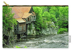 Abandoned Home By The River Carry-all Pouch