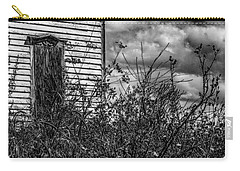 Carry-all Pouch featuring the photograph Abandoned by Kendall McKernon