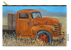Abandoned Orange Chevy Carry-all Pouch