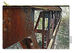 Abandoned Steel Bridge Nashville Indiana Carry-all Pouch