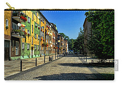 Carry-all Pouch featuring the photograph Abandoned Street by Mariola Bitner