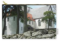 Abbey Exterior #2 Carry-all Pouch by Susan Lafleur