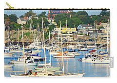 Abbot Hall Over Marblehead Harbor From Chandler Hovey Park Carry-all Pouch