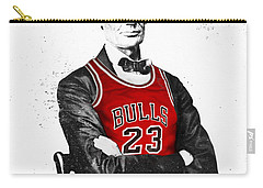 Abe Lincoln In A Michael Jordan Chicago Bulls Jersey Carry-all Pouch