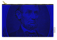 Carry-all Pouch featuring the photograph Abe On The 5 Violet by Rob Hans