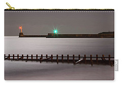Aberdeen Beach At Night _ Pano Carry-all Pouch