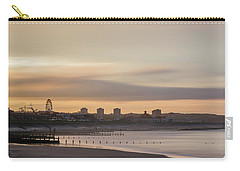 Aberdeen Beach At Sunset Carry-all Pouch