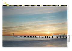 Aberdeen Beach Sunrise Carry-all Pouch