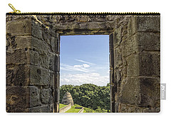Carry-all Pouch featuring the photograph Aberdour Castle by Jeremy Lavender Photography