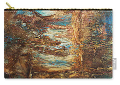 Lagoon Carry-all Pouch by Patricia Lintner