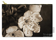 Carry-all Pouch featuring the photograph Abiding Elegance by Linda Lees
