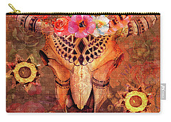 Carry-all Pouch featuring the digital art Abilene 2016 by Kathryn Strick