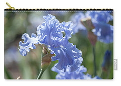 Abiqua Falls 1. The Beauty Of Irises Carry-all Pouch