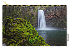 Abiqua Falls Carry-all Pouch by Patricia Davidson