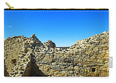 Carry-all Pouch featuring the photograph Abo Mission Ruins New Mexico by Jeff Swan