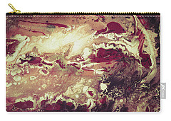 Above The Clouds - Contemporary Earth Tone Abstract Painting Carry-all Pouch