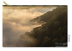 Carry-all Pouch featuring the photograph Above The Mist - D009960 by Daniel Dempster