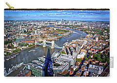 Above The Shadow Of The Shard Carry-all Pouch